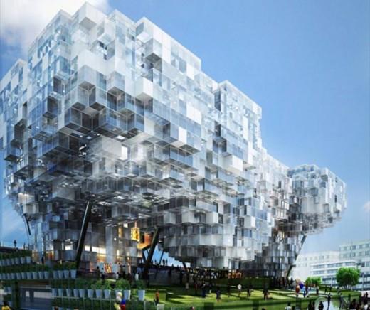 Digital building,