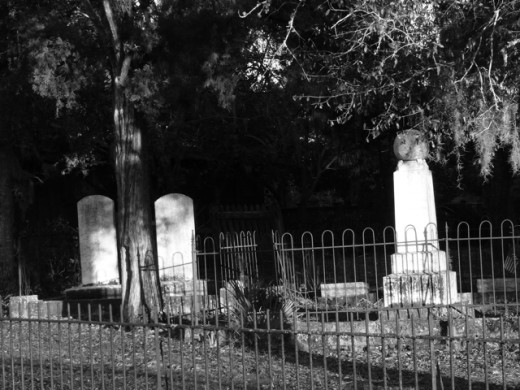 Historic Cemetery in Apalachicola, Florida