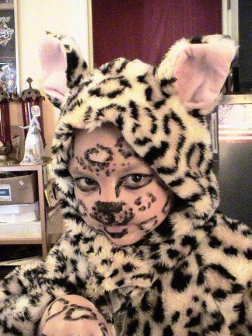 (Nutrition Kid) Leopard On the Prowl:   Halloween