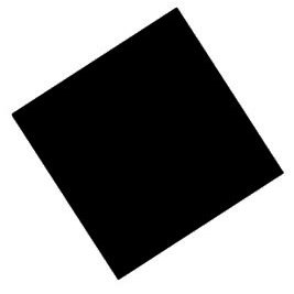 Solid Black Bandana
