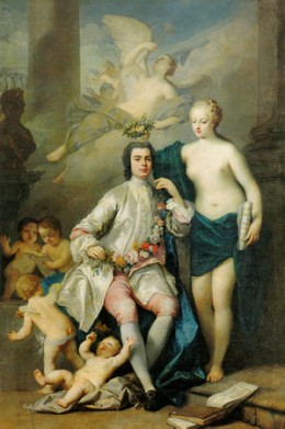 Farinelli (1705-1782), the most famous of the castrati.