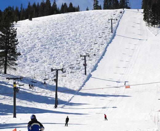 Popular Ski Resort at Homewood