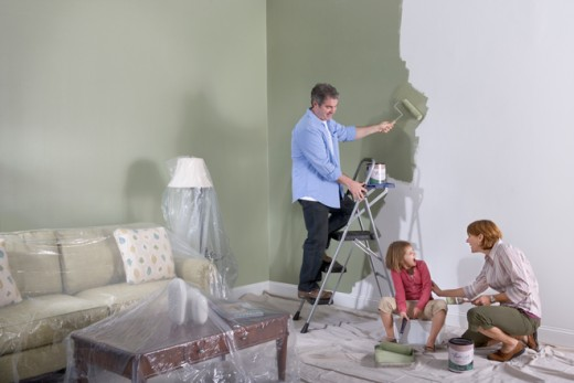 Freshaire Paint is an American paint with 0 VOCs available only at Home Depot