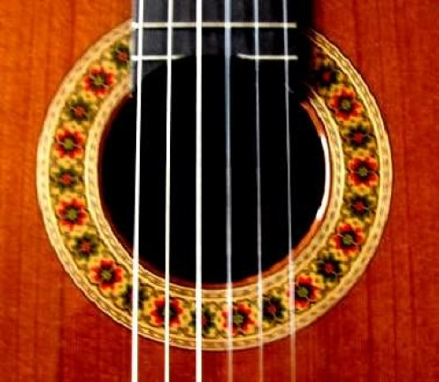 Beautiful guitar decoration...by amountsment on Photobucket