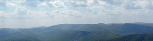 The Beautiful Blue Ridge Mountains of North Carolina