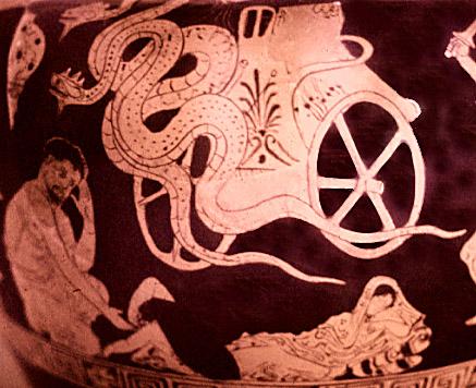 Medea's Chariot.