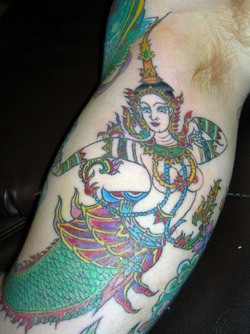 More Mermaid Tattoo Designs