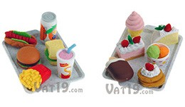 Fast Food and Desert Tray Sets