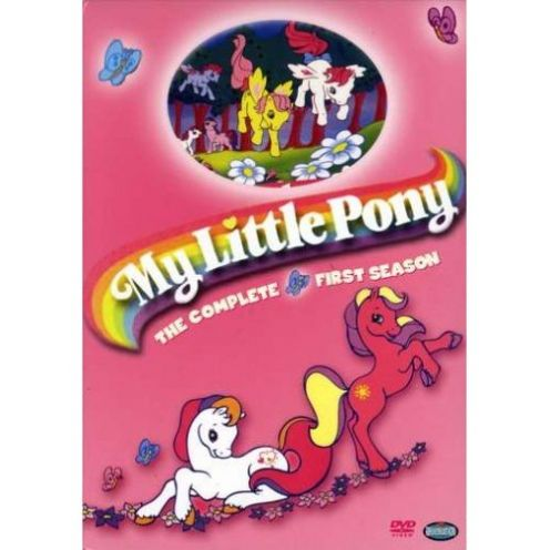 My Little Pony First Season DVD Cover