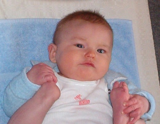 Our little grand daughter
