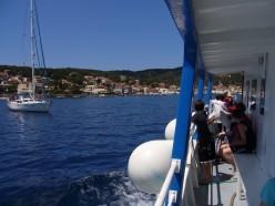 photo - boat trips to Greek islands.