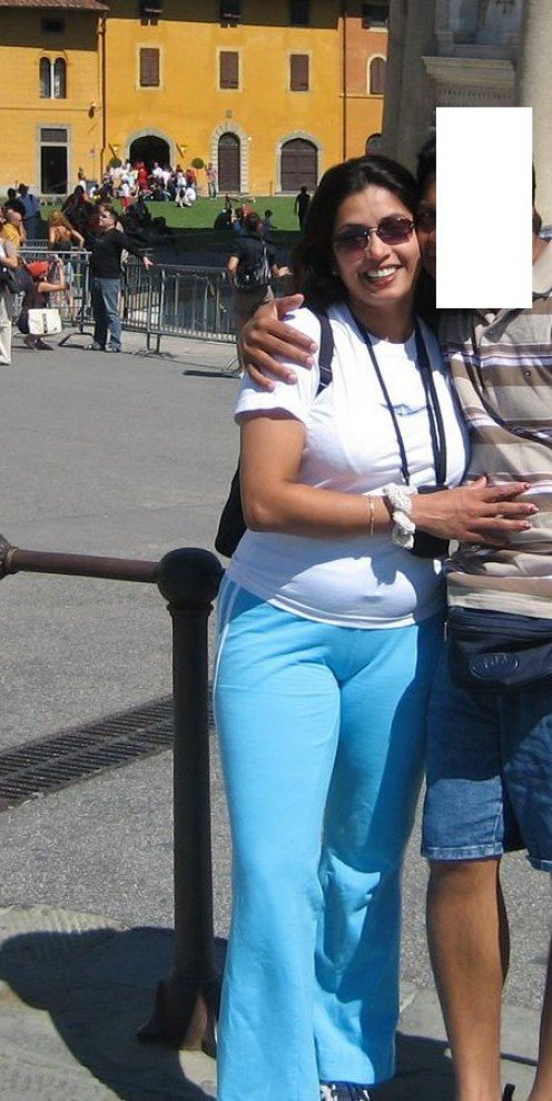 photos of big fat aunty on trip to italy and paris Image 0