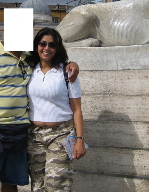 photos of big fat aunty on trip to italy and paris Image 5