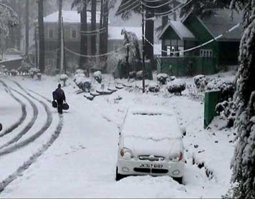 Winters in Patnitop
