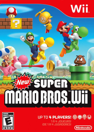 Box art for New Super Mario Bros. Wii