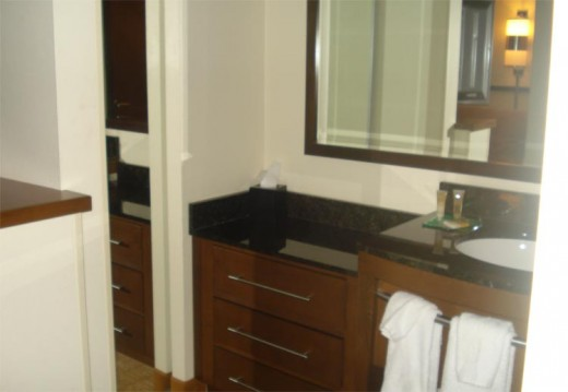 Sink and Closet Area