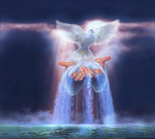 Giver of living water