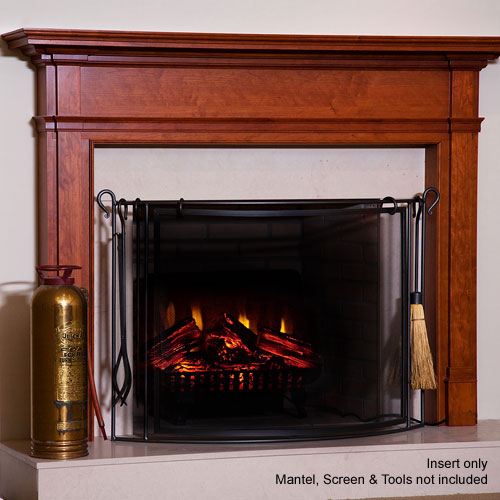 """ClassicFlame 24"""" electric fireplace insert (existing fireplace)"""