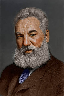 Alexander Graham Bell   Inventor of the Telephone   Source: Wikipedia