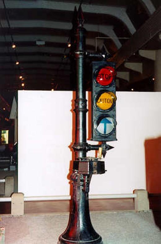 Stoplight invented by Garrett Morgan