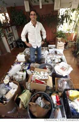 Ari Defel and his trash