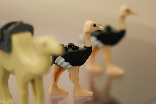 The awesome Lego Ostrich