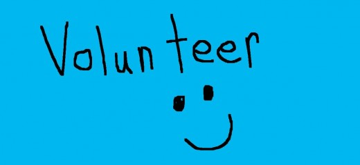 Volunteering can make you feel good!