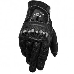 Alpinestars SMX-2 Air Carbon Men's Leather/Textile Street Racing Motorcycle Gloves