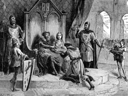 Medieval Knights were intertwined with the Knights Templar at times of war in Scotland