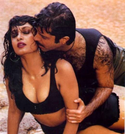 Ramya Krishnan Hot Navel Cleavage