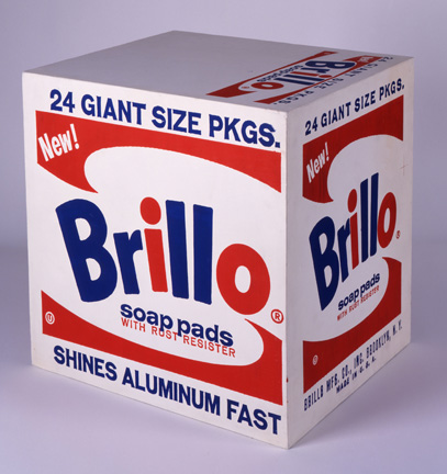 Warhol turned Brillo boxes into art