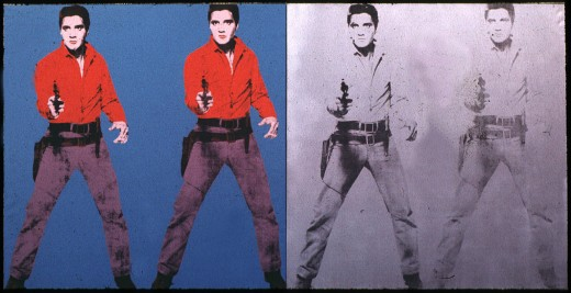 One version of Warhol's Elvis sold for $100 million