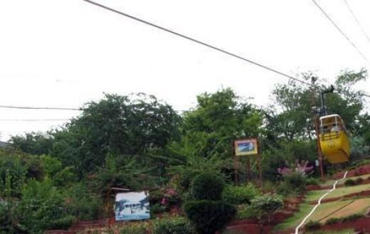 Ropeway to Mansa Devi Temple