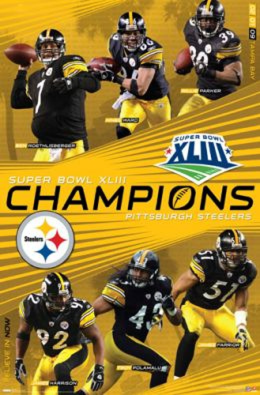 LAST SEASONS CHAMPION, STEELERS