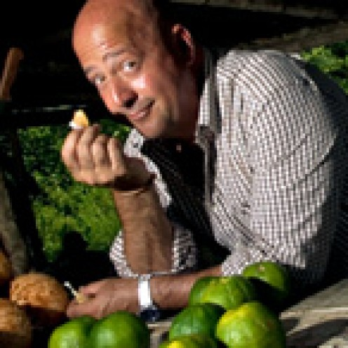 Andrew Zimmern has traveled the seven seas looking for new things to try.