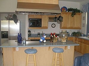 Modern Kitchen but par for the course in Henderson