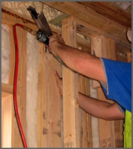 Nailgun injuries at constructions sites is a common occupational injury.