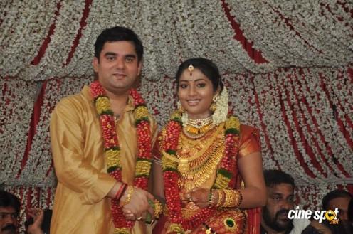 Navya Nair wedding pic