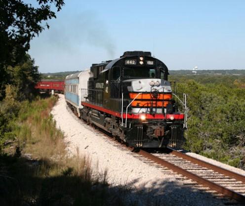 Austin Steam Train Press Photo