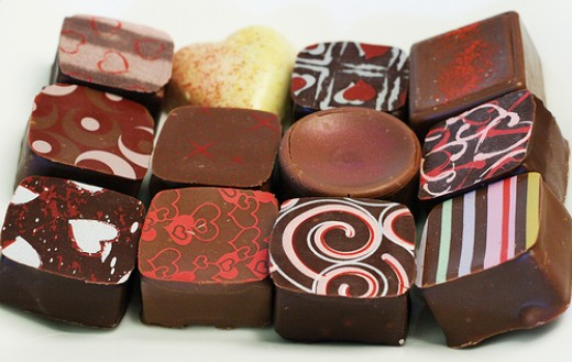 Chocolate is one of most popular Valentine's gifts