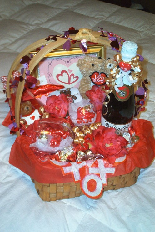 Heart's Together Basket