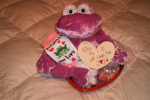 Toadally In Love Valentine's Gift