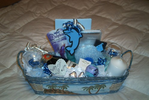 Dolphin Gift Basket