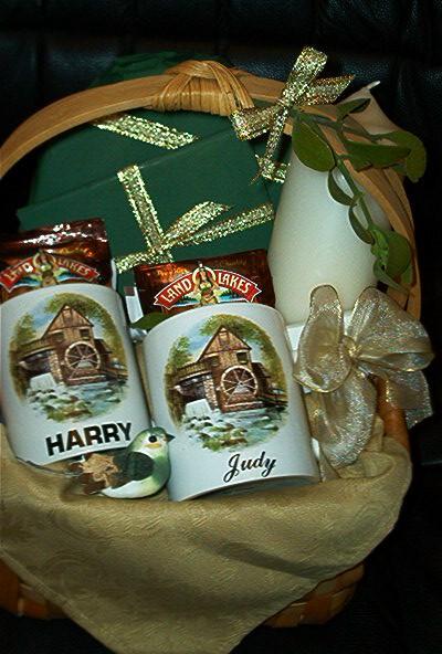 House Warming Christmas Gift Basket