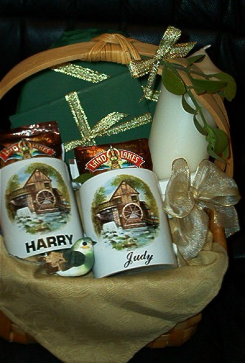 House Warming Christmas Gift Basket
