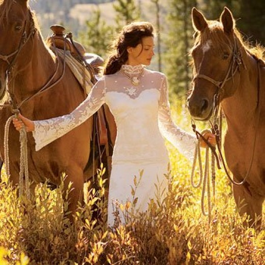 Cowgirl Wedding Ideas: Rustic Country Western Wedding Dresses And Themes For Any