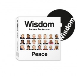 Wisdom book cover with CD