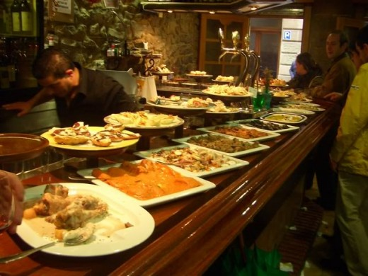 A typical Tapas bar..by obinkrate on photbucket
