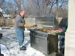 Infrared gas grills cook in the snow, out in the ocean and heat is perfect anywhere!