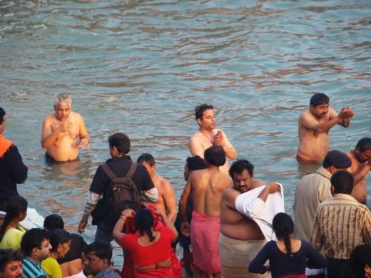 The holy dip at kumbha 1